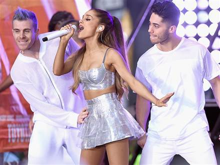 Who is ariana grande dating today compared