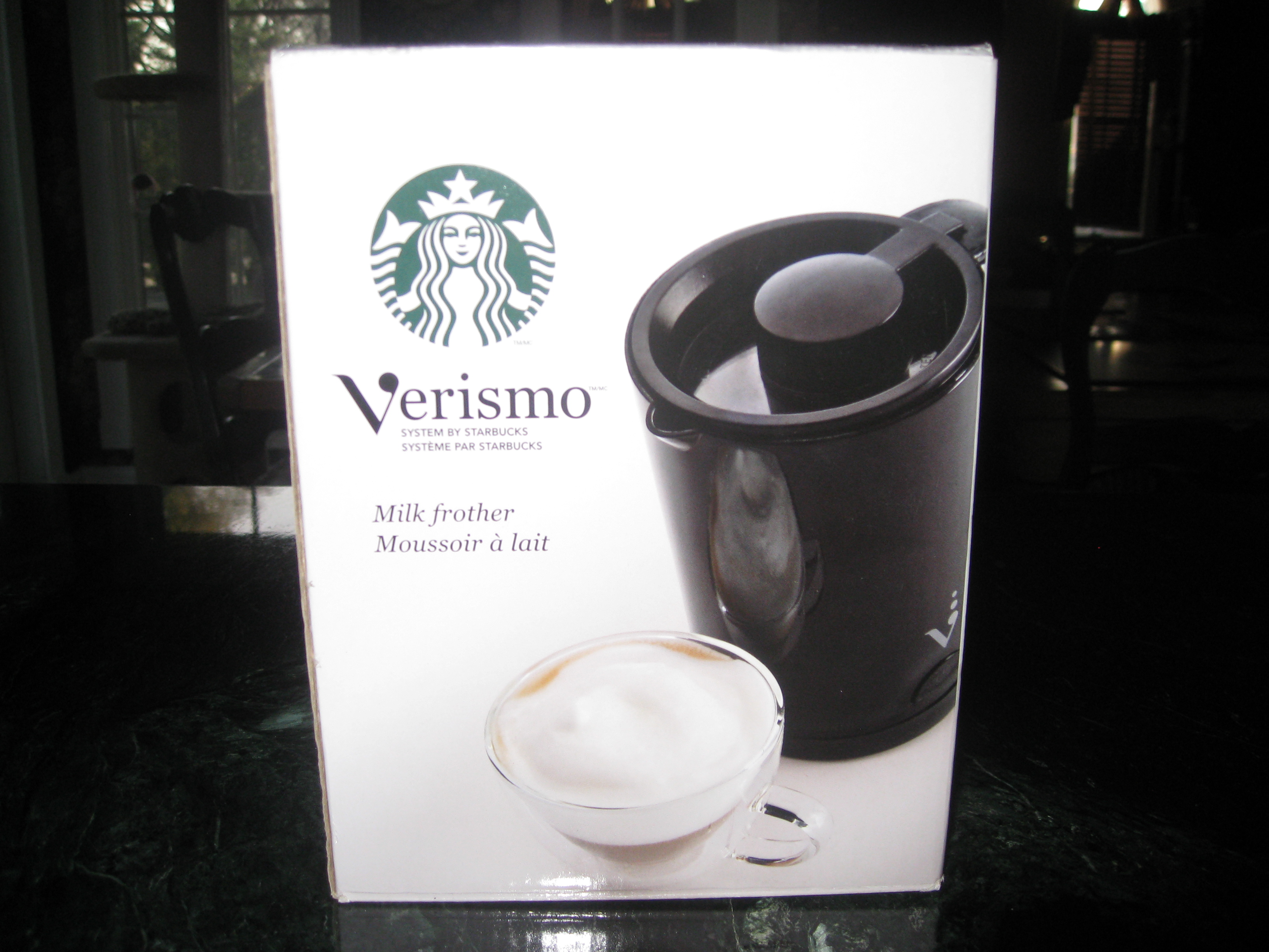 Starbuck S Verismo Milk Frother For Soy Milk Too
